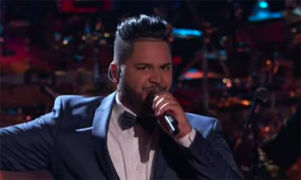 "Johnny Bliss sings ""America America"" on The Voice 2018 Live Playoffs"