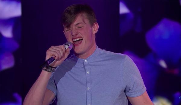 """Jonny Brenns sings """"Georgia"""" on American Idol 2018 Top 24"""