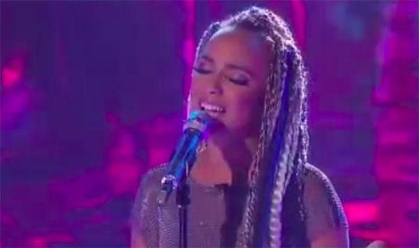 """Jurnee sings """"How Far I'll Go"""" on American Idol 2018 Top 10 Disney Night"""