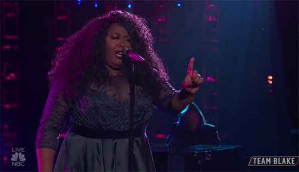 "Kyla Jade sings ""One Night Only"" on The Voice 2018 Top 12 Live Shows"