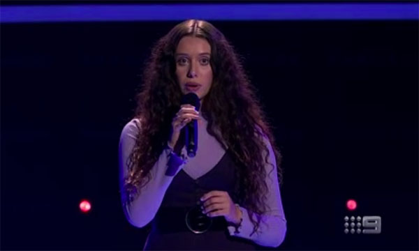 "Liv Bevan sings ""Goodbye Yellow Brick Road"" on The Voice Australia 2018 Blind Auditions"