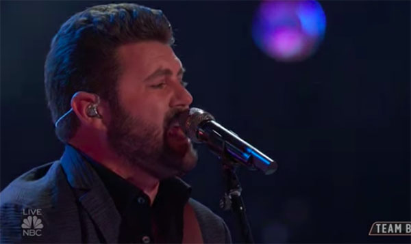 "Pryor Baird sings ""Pickin' Wildflowers"" on The Voice 2018 Top 12 Live Shows"