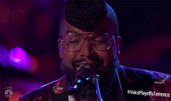 "Terrence Cunningham sings ""How Come U Don't Call Me Anymore"" on The Voice 2018 Live Playoffs"