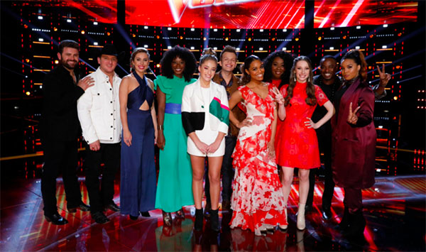 'The Voice': Top 11 Sing Songs Chosen by Fans