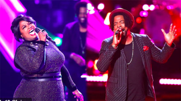 The Voice 2018 The Knockouts: DR King vs Tish Haynes Keys