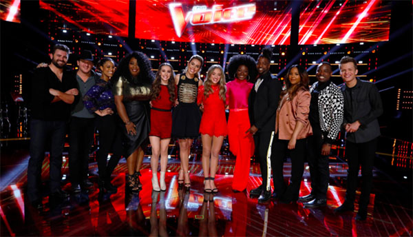The Voice Results Tonight 2018, Top 12 Live Elimination, Top 10 Revealed