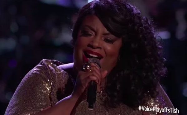 """Tish Haynes Keys sings """"At Last"""" on The Voice 2018 Live Playoffs"""