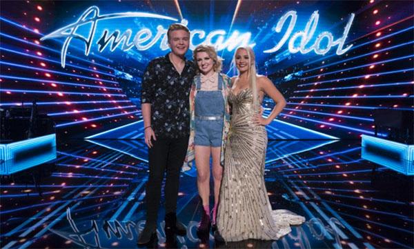 American Idol Finalists Caleb Lee Hutchinson and Maddie