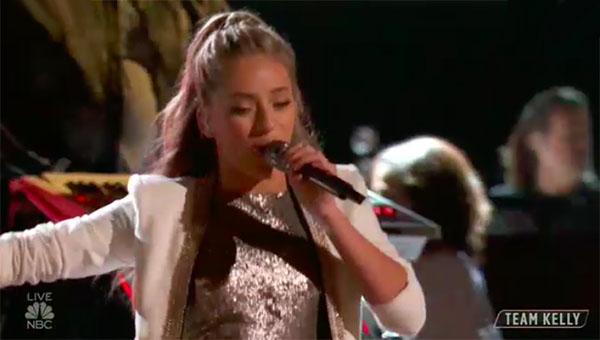 "Brynn Cartelli Original Song ""Walk My Way"" The Voice 2018 Top 4 Finale"