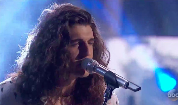 "Cade Foehner sings ""Who Will Save Your Soul"" on American Idol 2018 Top 7"