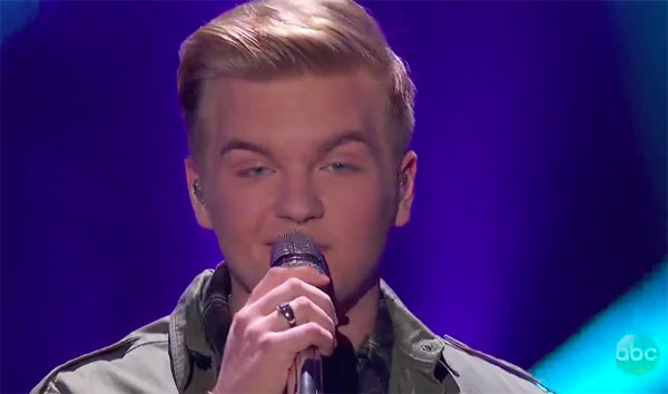 "Caleb Lee Hutchinson sings ""Amazed"" on American Idol 2018 Top 7"