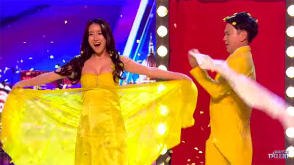 Ellie and Jeki from South Korea wows on Britain's Got Talent 2018