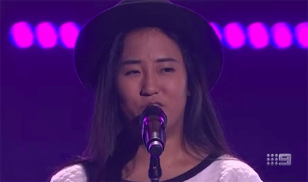 "Gemma Nha sings ""Nessun Dorma"" on The Voice Australia 2018 Blind Auditions"