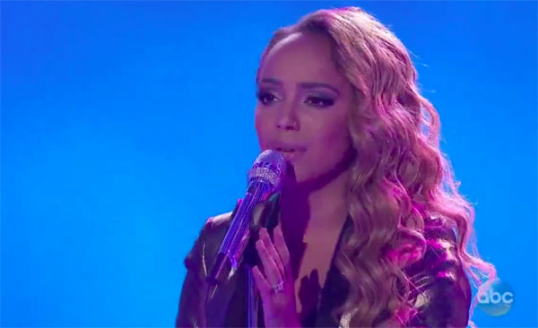 "Jurnee sings ""Back at One"" on American Idol 2018 Top 7 Live"