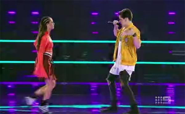 "Madi K vs Aydan Calafiore ""Uptown Funk"" The Voice Australia 2018 Battles"