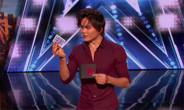 Magician Shin Lim Wows with Card Trick on America's Got Talent 2018