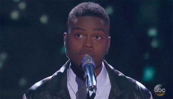 "Michael J Woodard sings ""My Heart Will Go On"" on American Idol 2018 Top 7"