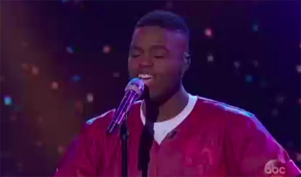 "Michael J Woodard sings ""Still I Rise"" on American Idol 2018 Top 5"