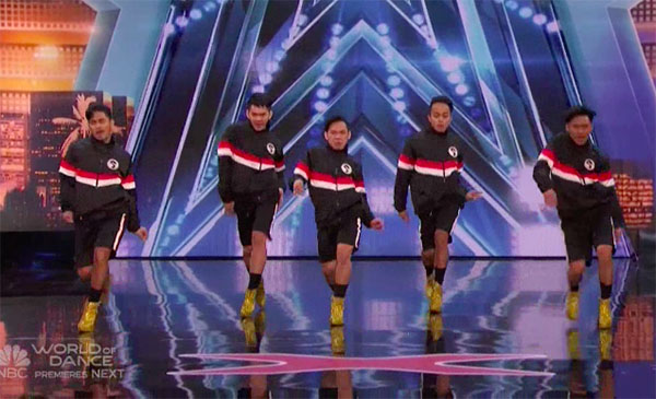 Pinoy dance group Junior New System wows on America's Got Talent 2018