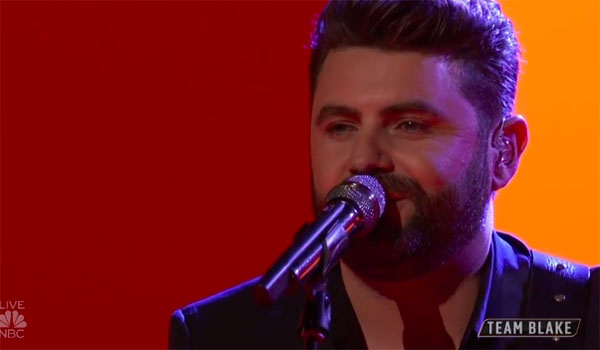 "Pryor Baird sings ""Change the World"" on The Voice 2018 Top 8 Semifinals"
