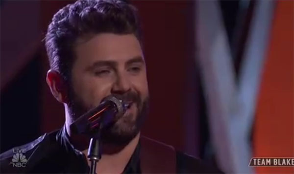 "Pryor Baird sings ""My Town"" on The Voice 2018 Top 10"