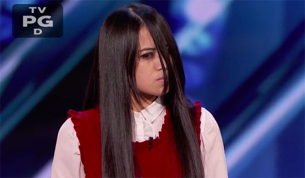 Sacred Riana Scares Judges on America's Got Talent 2018