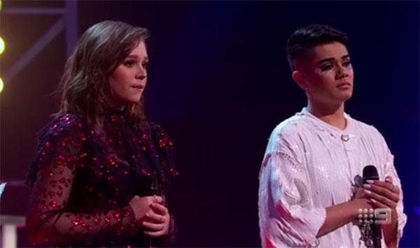 "Sheldon Riley vs Mikayla Jade ""Diamonds"" The Voice Australia 2018 Battles"