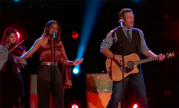Spensha Baker and Blake Shelton Duet on The Voice 2018 Top 4 Finale