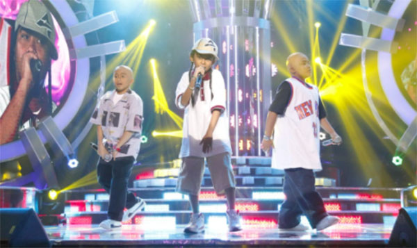 TNT Boys as Salbakuta on Your Face Sounds Familiar Kids 2018