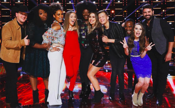 The Voice 2018 Top 10 Live Performance Recap, Videos and Live Blog
