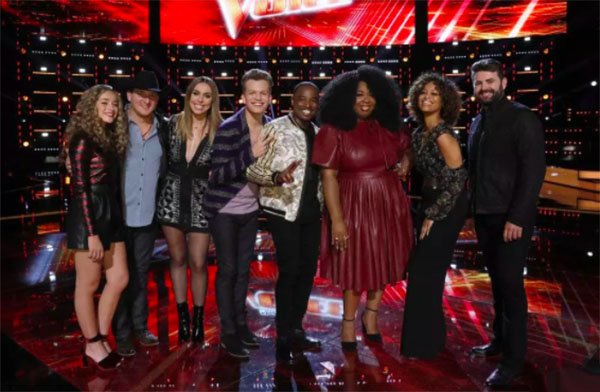 The Voice iTunes Charts and Rankings 2018 Season 14 Top 8 Semifinals