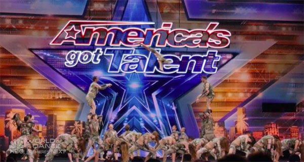 Zurcaroh gets Golden Buzzer from Tyra on America's Got Talent 2018