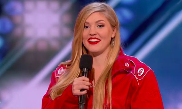"Annaliese Nock shocks with ""Exploding Coffin"" America's Got Talent 2018 Audition"