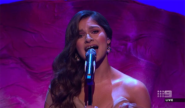 "Bella Paige sings ""Greatest Love of All"" on The Voice Australia 2018 Grand Finale"