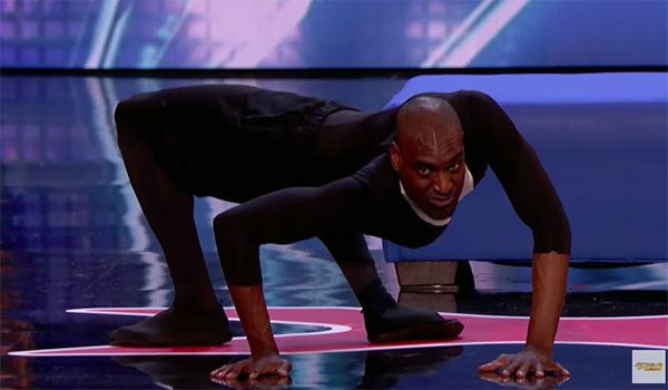 Contortionist Troy James Terrifies Judges on America's Got Talent 2018