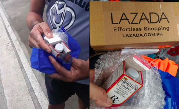 WATCH: Customer received Amoxicillin instead of Cellphone from Lazada