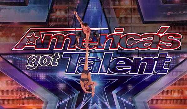 Duo Transcend Performs Dangerous Trapeze Act on America's Got Talent 2018