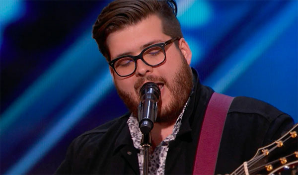 "Glee Star Noah Guthrie sings ""Love on the Brain"" on America's Got Talent 2018"
