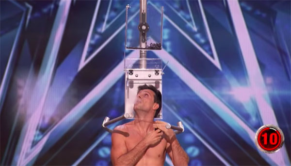 Lord Nil Performs Death-defying Act on America's Got Talent 2018