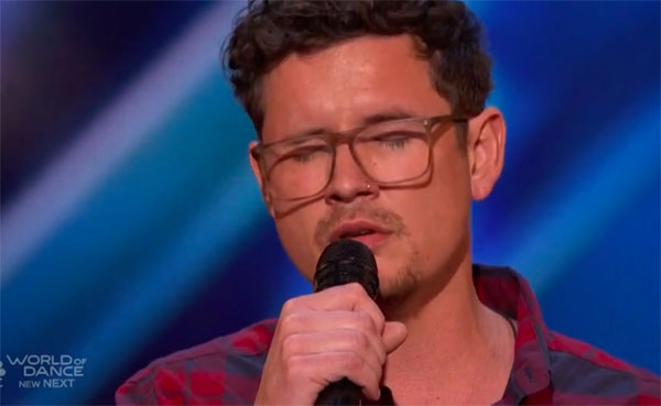 Michael Ketterer Gets Golden Buzzer from Simon on America's Got Talent 2018