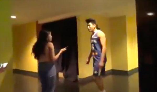 Ricci Rivero Shouts at a Female Fan in Viral Video