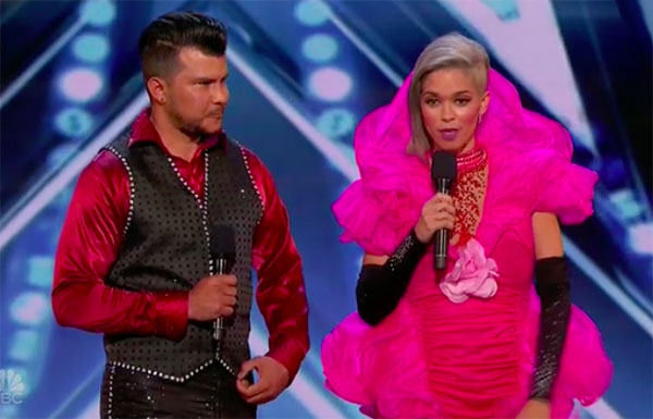 Sixto & Lucia wows with Quick Change on America's Got Talent 2018 Audition