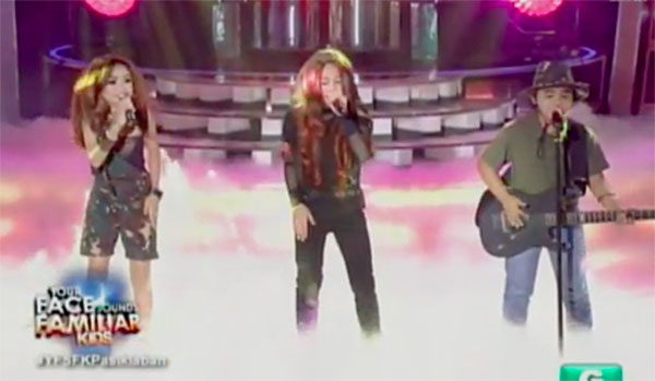 "TNT Boys as ""Aegis"" on Your Face Sounds Familiar Kids 2018"