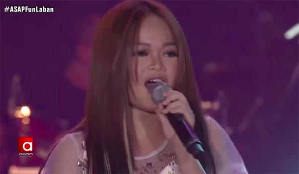 "WATCH: TNT Champ Janine Berdin sings ""Nosi Balasi"" on ASAP"