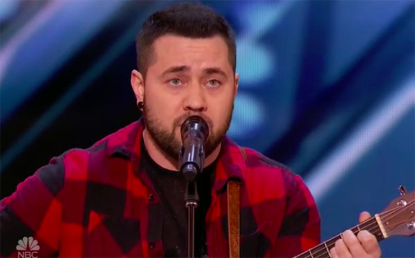 "Transgender Brody Ray sing ""Stand In The Light"" on America's Got Talent 2018"