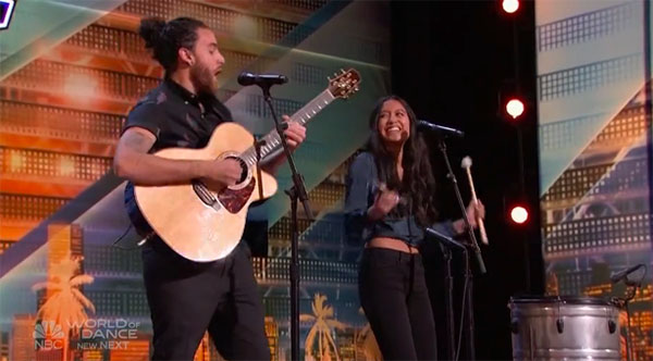 """Us The Duo"" America's Got Talent 2018 Season 13 Audition"