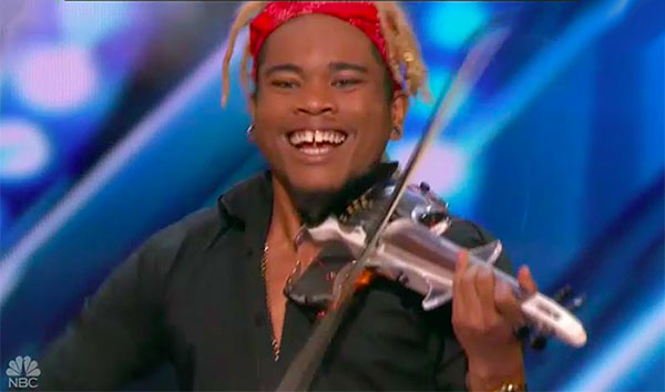 Violin Act Brian King Joseph impress on America's Got Talent 2018 Audition