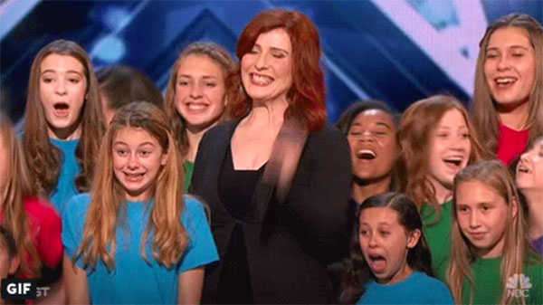 "Voices of Hope Children's Choir ""This Is Me"" America's Got Talent 2018 Audition"