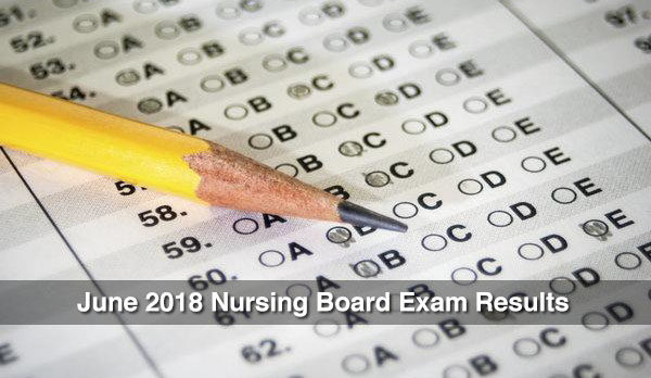 PRC Results: Nursing Board Exam June 2018 NLE Passers Topnotchers
