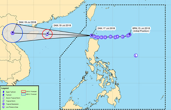 Bagyong Henry PAGASA Weather Live Update for July 17 2018